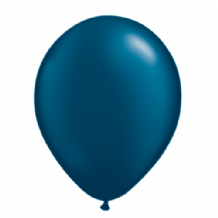 "Qualatex 11 inch Balloons - Pearl Midnight Blue 11"" Balloons (Radiant 100pcs)"